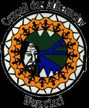 Logo Conseil des Atikamekw de Wemotaci | Opposition Hydro-Québec NECEC | Quebec Hydro Clash
