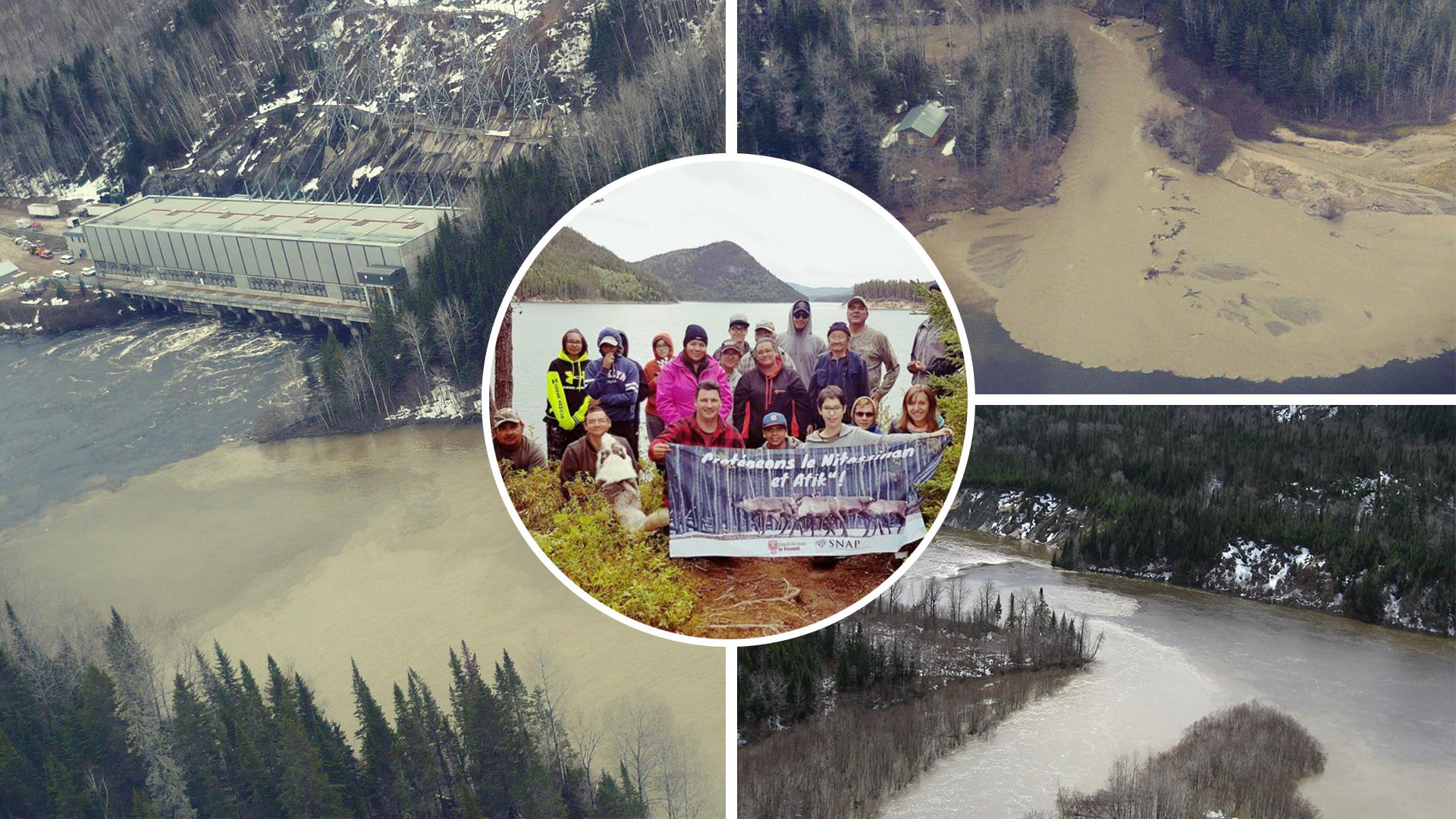 « Énergie propre » et dévastation des rivières | Opposition Hydro-Québec NECEC | Quebec Hydro Clash