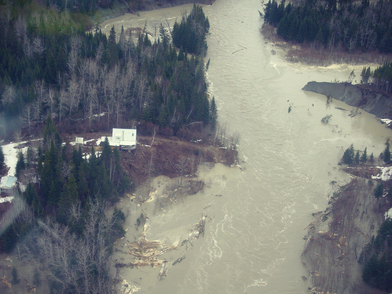 « Clean energy » and the destruction of habitats | Opposition to the NECEC | Quebec Hydro Clash